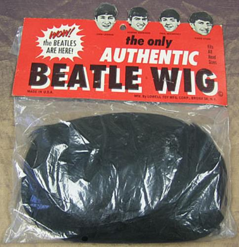 The+Beatles+Authentic+Beatle+Wig+298133