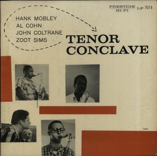 Hank+Mobley+Tenor+Conclave+-+1st+651325