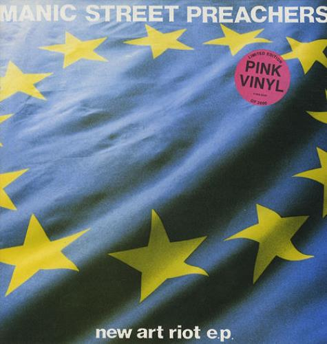 Manic+Street+Preachers+New+Art+Riot+-+Pink+Vinyl+8791