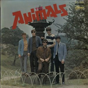 THE ANIMALS The Animals (Rare 1966 Japanese-only 14-track stereo LP pressed on Everclean Wine Red Vinyl