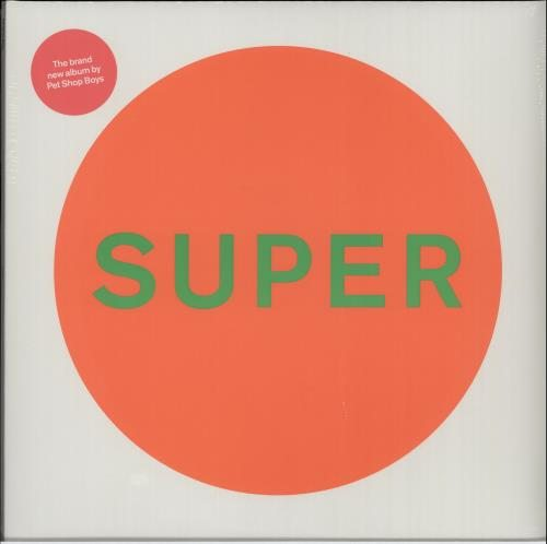 Pet+Shop+Boys+Super+-+White+Vinyl+-+Sealed+651974