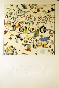"Led Zeppelin III - very rare 2014 UK limited edition 36"" x 24"" litho print"