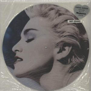 True Blue Hong Kong Only Picture Disc