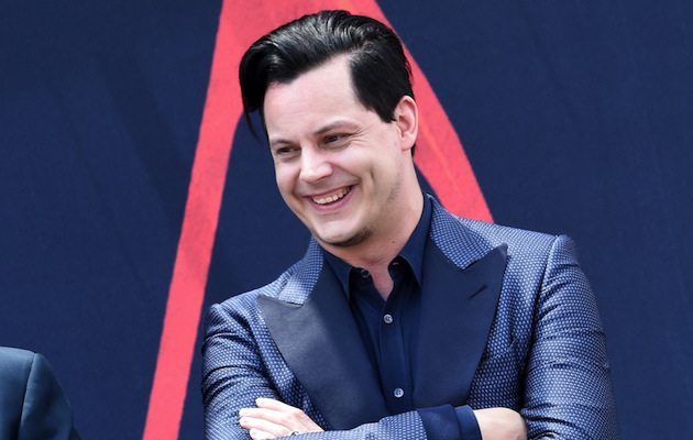 NASHVILLE, TN - JUNE 04: Inductee Jack White (pictured) inductes Loretta Lynn into The Nashville Walk Of Fame on June 4, 2015 in Nashville, Tennessee. (Photo by Rick Diamond/Getty Images)