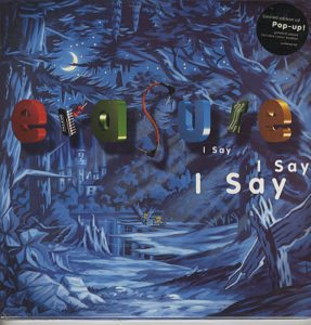 """I Say I Say I Say (1994 UK limited edition 10-track CD album issued in a most spectacular 12"""" x 12"""" gatefold picture sleeve which when opened up shows a superb 3-D pop-up castle!"""