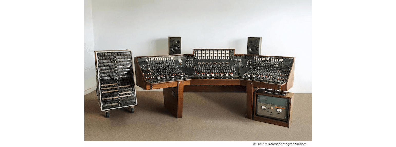 The mixing desk used on Pink Floyd's 'Dark Side Of The Moon' is to be auctioned!