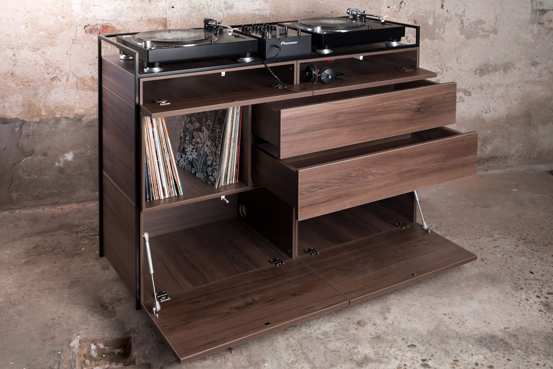 vinyl record furniture. Goal,\u201d Said Ten Velden, Who Was Motivated To Create The Selectors Cabinet After Noting A Lack Of Furniture Designed Specifically For Vinyl Collectors. Record U