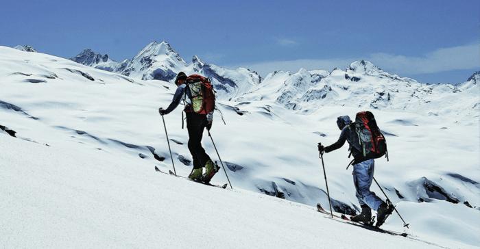 pratique ski de rando