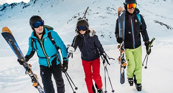 La bonne tenue de ski
