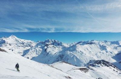 Skier en avril