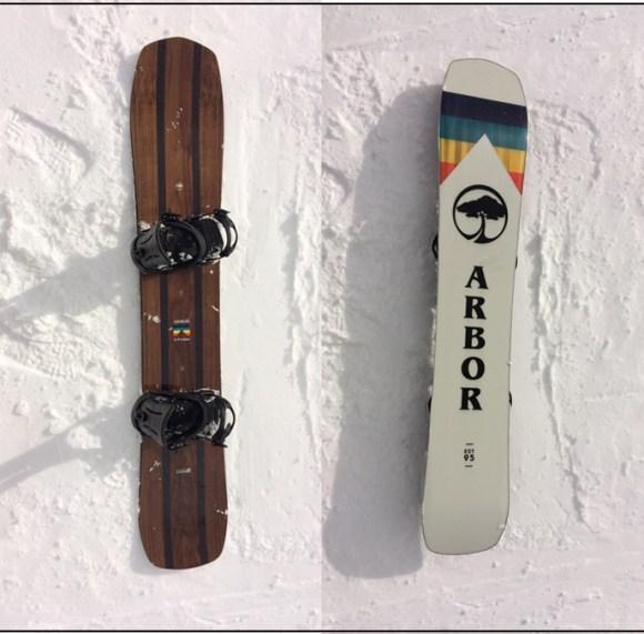 Arbor Snowboards A frame