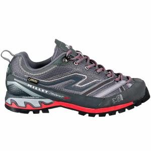 chaussures trek haute femme trident poseidon gris