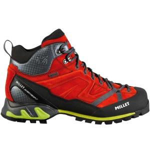 chaussures trek haute trident poseidon rouge