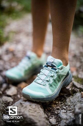 Chaussure trail XA elevate bleu clair