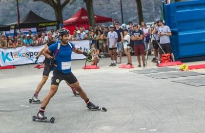Martin fourcaude au Aix ski invitational