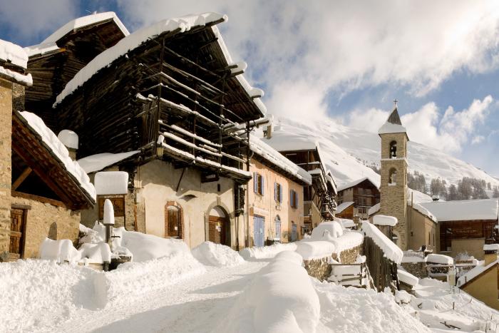 Skier à Saint Véran