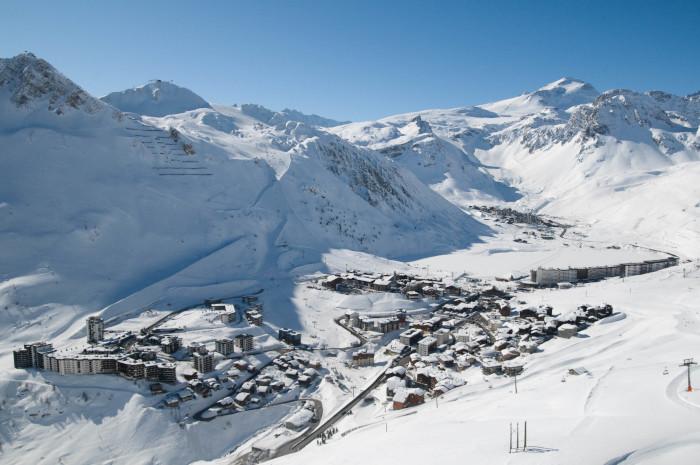 Skier à Tignes