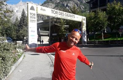 Tor des géants avec Georges Gaspard