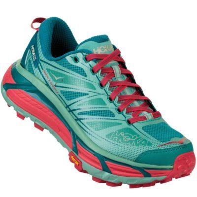Chaussures de trail Hoka MAFATE SPEED 2 W CANTONGREEN-BLUE SLATE 2018
