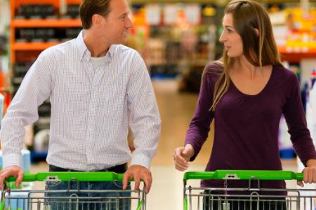 Tú y tu ex se encuentran por casualidad en el supermercado…
