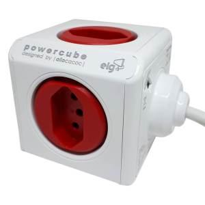 Powercube Original Elg 5 Tomadas com Cabo de 1,5M Bivolt