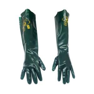 Luva de PVC Handschuhe Hexanol sem Forro 9,5/G