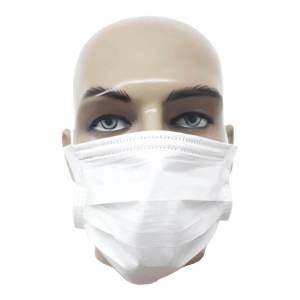 Mascara Cirurgica Nobre C/ Tripla Camada e Elastico 50UN VM