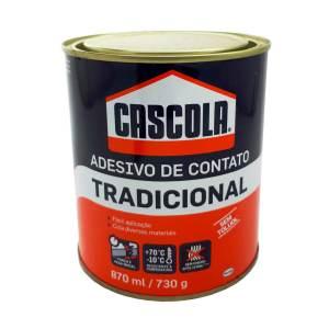 Cola Contato Cascola Tradicional Sem Toluol Lata 730g