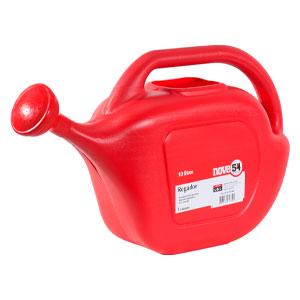 Regador de Plastico NOVE54 Chaleira 10 Litros Vermelho