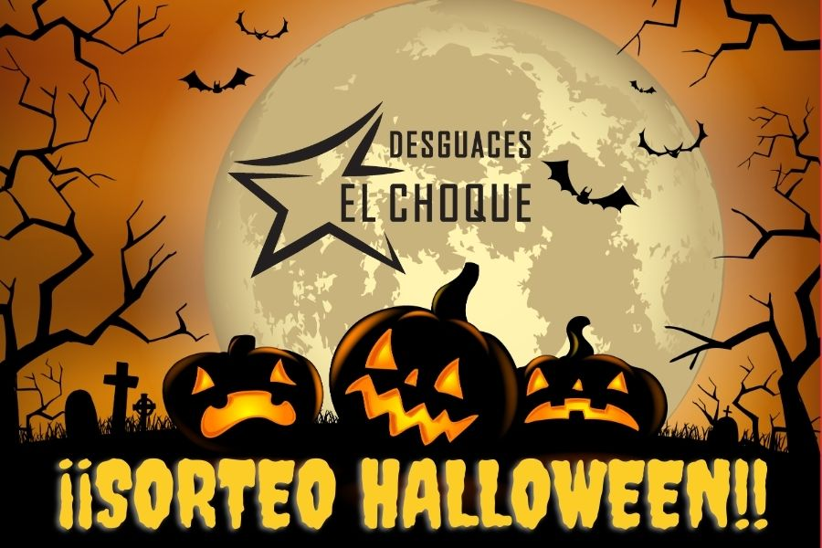 Sorteo halloween el choque