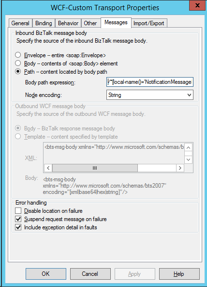MessagesSettings
