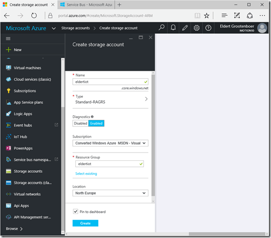 IoT – Integration of Things: Processing Event Hubs From Azure Cloud