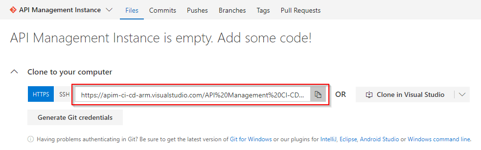 API Management CI/CD using ARM Templates – API Management