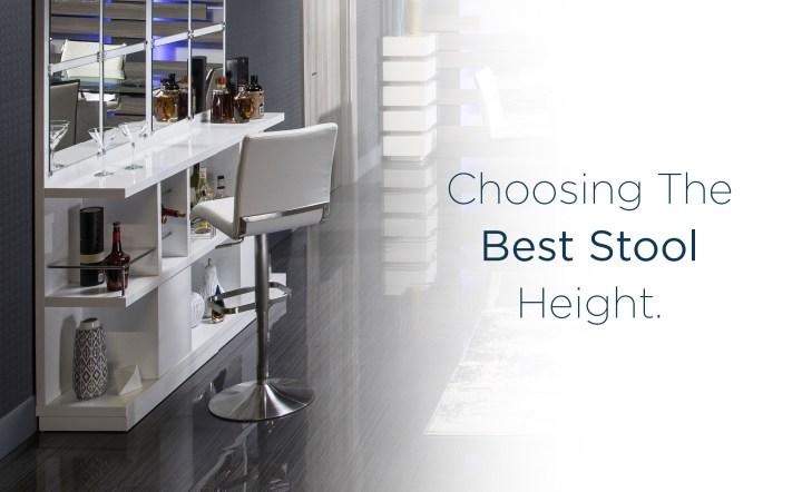 Choosing the Best Stool Height