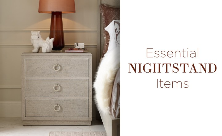 Essential Items You Need For Your Nightstand