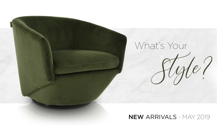 WYS: May New Furniture Arrivals