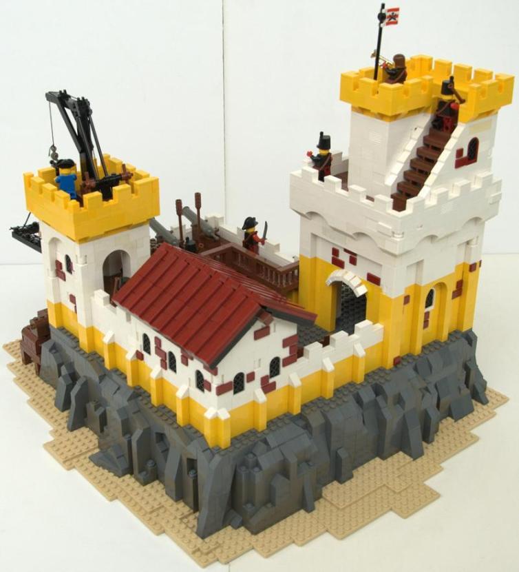 construye tejados con LEGO: Eldorado Fortress Redux