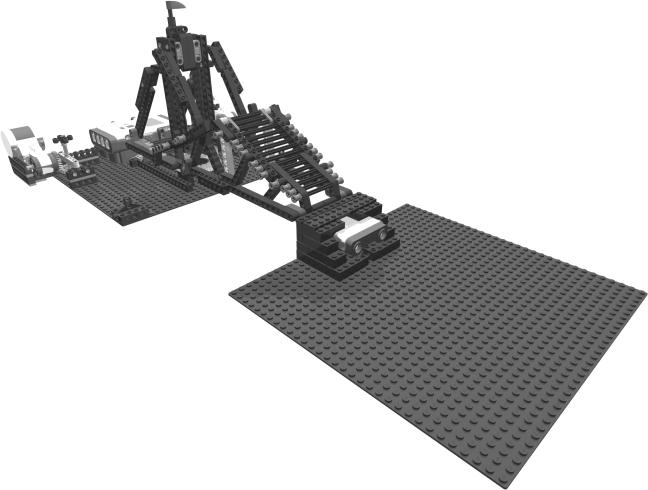 Puente giratorio LEGO