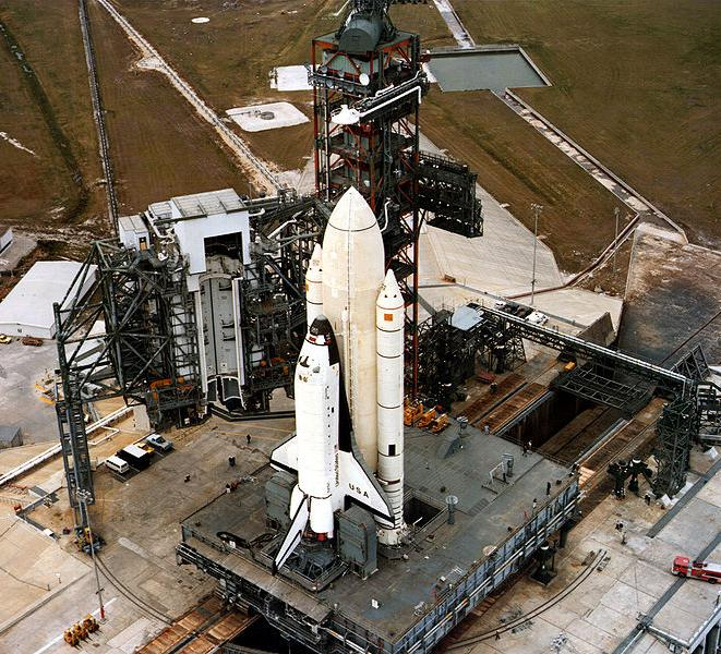 lanzamiento Columbia STS-1
