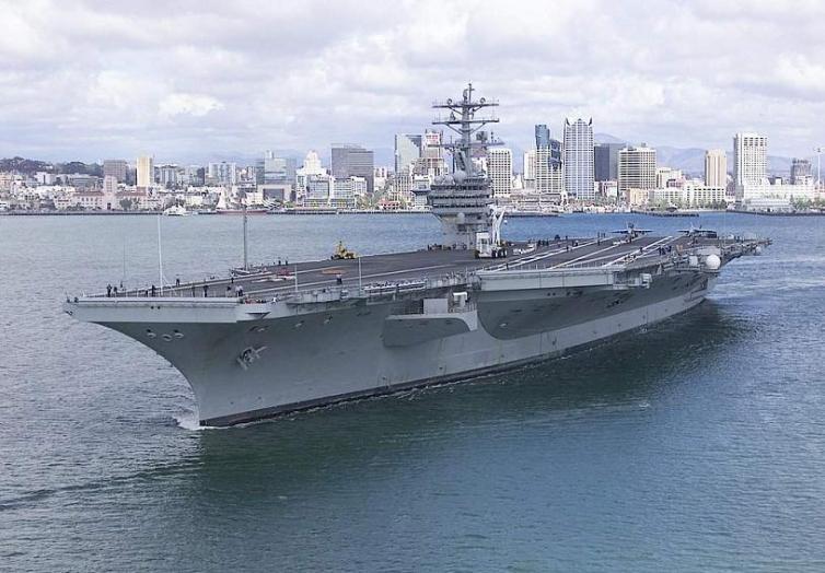 portaaviones nuclear USS Nimitz