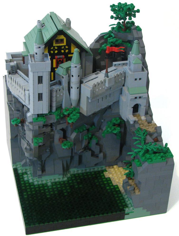 Castillo en el lago, por cjedwards47