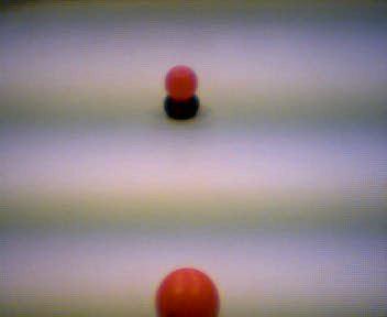 deteccion de la bola y calculo de distancia