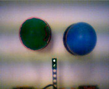 Reconocer objetos con OpenCV: Pelotas 2