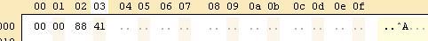 ficheros en robotcC: hex2