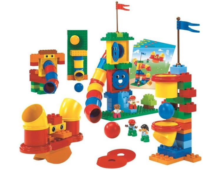aprender jugando: LEGO education 9076