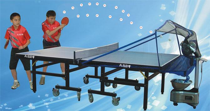 Lanzador pelotas ping-pong