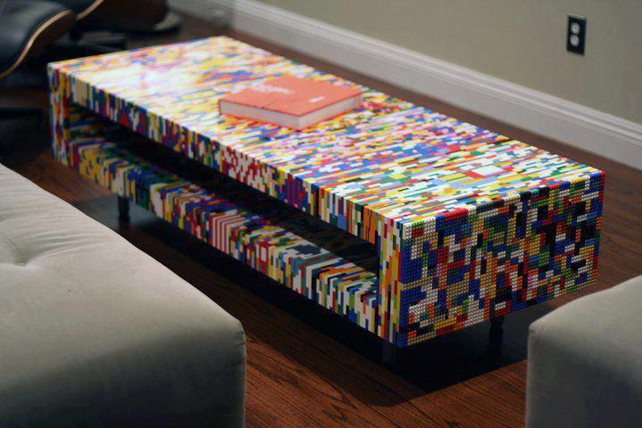 Muebles con LEGO