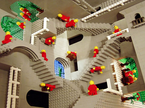 Escher en LEGO