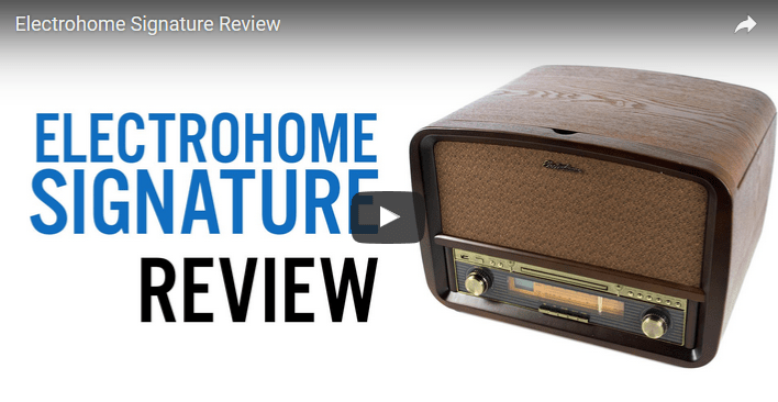 Sounds Guys Reviews the Signature Series Record Player