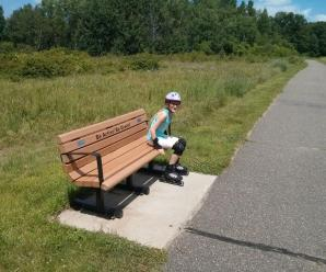 49) Took My Daughter Rollerblading On the Rice Creek North Trail #NewThingEveryDay